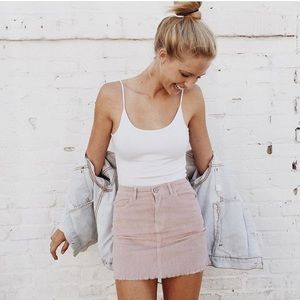Brandy Juliette Corduroy Skirt